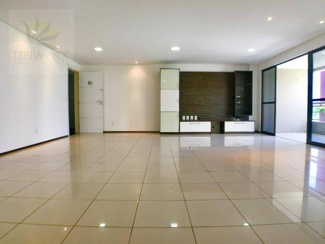 Apartamento com 3 dormitórios à venda, 149 m² por R$ 875.000 - Guararapes - Fortaleza/CE - Foto 5