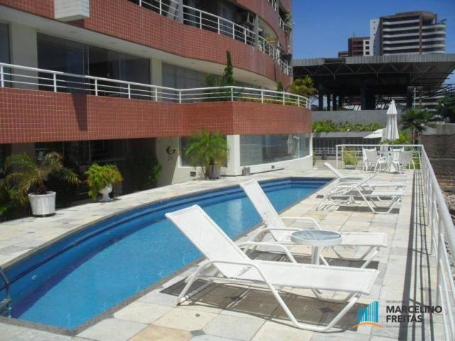 Flat residencial para locação, Mucuripe, Fortaleza. - Foto 5