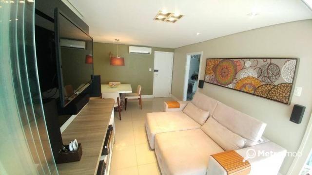 Apartamento com 2 dormitórios à venda, 74 m² por R$ 520.000,00 - Ponta da areia - São Luís
