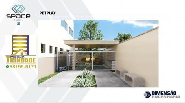T- Space Calhau 2_Apartamento No Altos do Calha 3 Quartos_torre Com Elevador - Foto 2