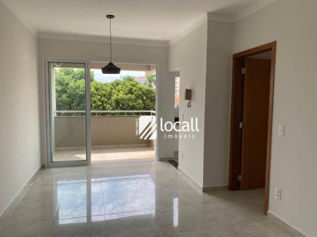 Apartamento com 1 dormitório para alugar, 55 m² por r$ 1.300/mês - vila são pedro - são jo