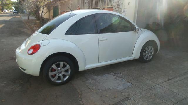 VW- New Beetle 2.0 Cor Branco Com Teto Solar Ano 2006/2007 - Foto 3