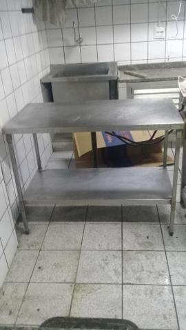 Mesa Inox Para Cozinha Outros Itens Para Comércio E Escritório