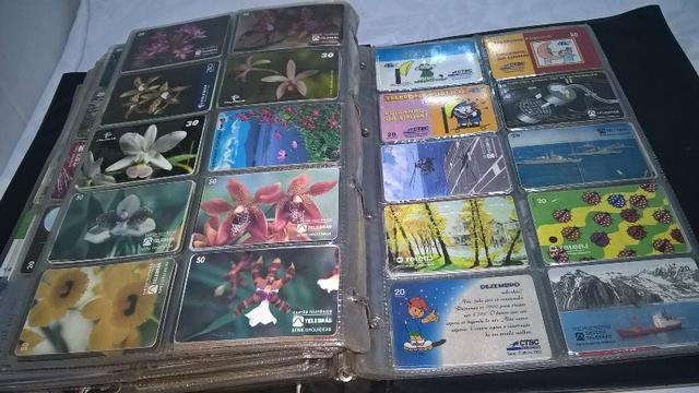 Coleção de Cartões telefônicos - Foto 3