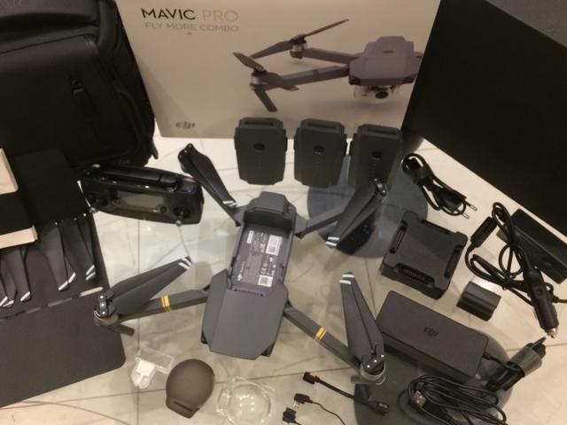 Drone MAVIC PRO Fly More DJI NOVÍSSIMO