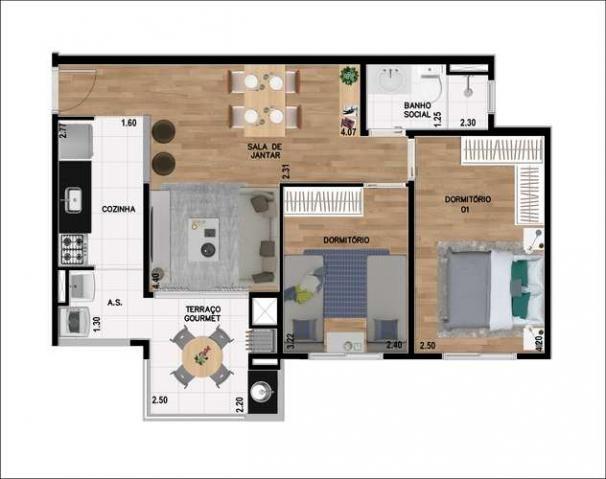 Residencial Real de Aragon - Apartamento com 2 quartos na Vila São Pedro - Santo André, SP - Foto 10
