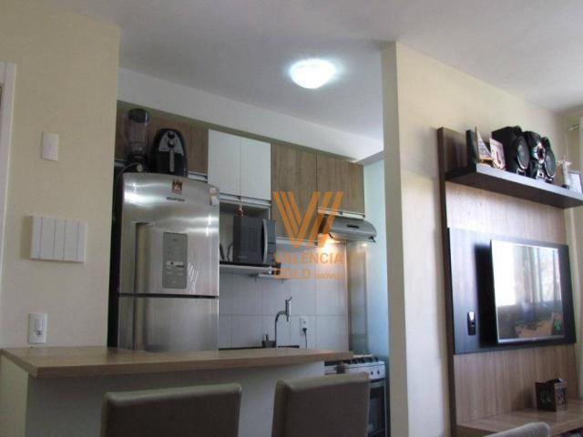 Apartamento com 3 dormitórios à venda, 64 m² por R$ 315.000,00 - Cajuru - Curitiba/PR - Foto 8