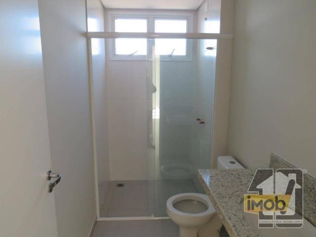Apartamento com 3 dormitórios para alugar, 101 m² por R$ 2.500,00/mês - Residencial Omoiru - Foto 17