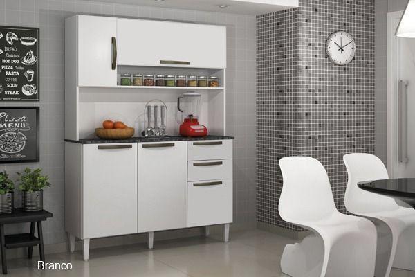 Kit Cozinha Nápoles - Entrega Grátis Fortaleza - Foto 2