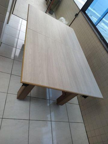 Mesa Tentação Caçapa Redes Cor Cerejeira Tecido Preto e Borda Verde Mod. CHHB9120 - Foto 2
