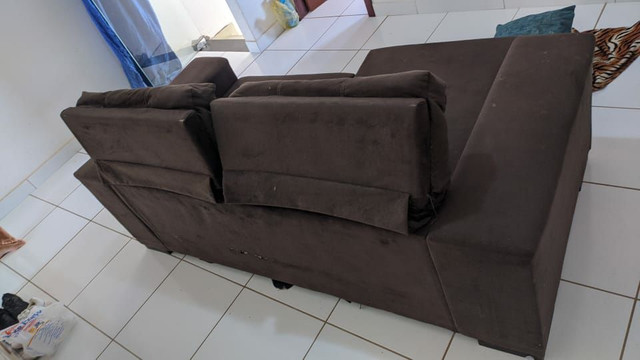 Sofá reclinável 3 lugares - Foto 2