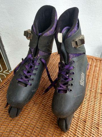 Vendo patins adulto no estado 30 Reais - Foto 2