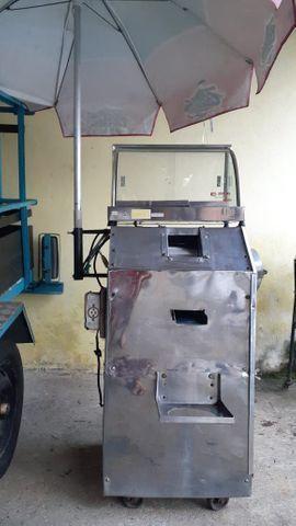 Máquina caldo cana /estufa de salgado