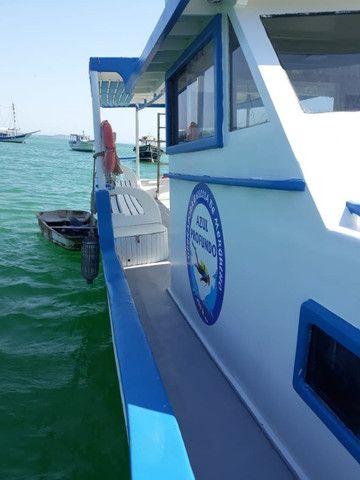 Traineira de mergulho, passeio ou pesca - Foto 7