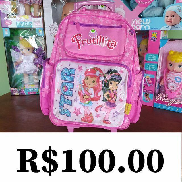 Kit de mochilas de rodinha - Foto 2