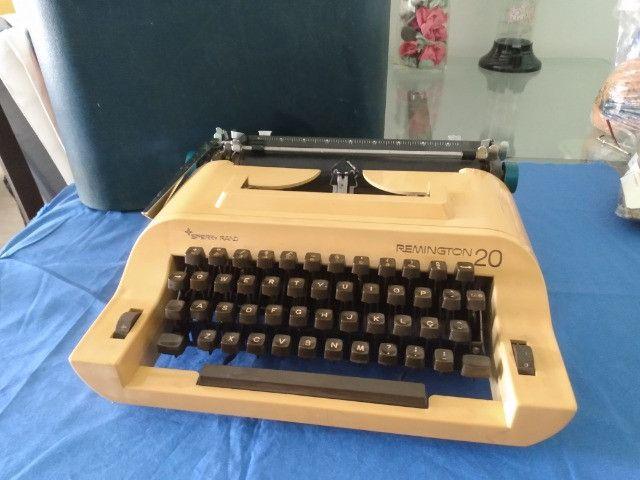 Máquina Escrever Remington 20 Antiga