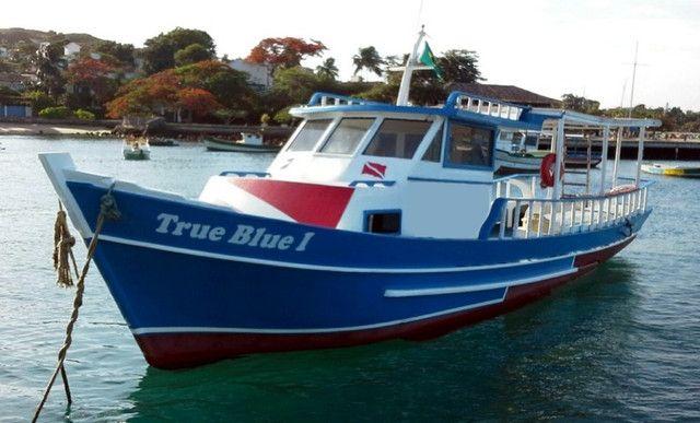 Traineira de mergulho, passeio ou pesca