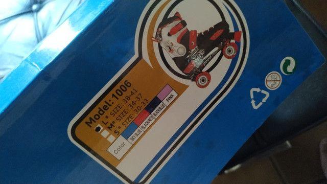 Patins Roller Quatro Rodas Hyper Sports Classic 38 Ao 41 - Foto 2