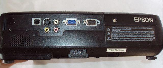 Projetor Epson S6+ lampada com projeção borrada - Foto 2