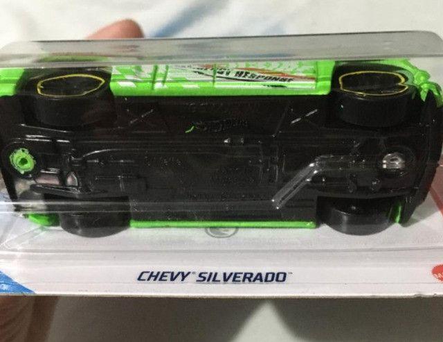 Hot Wheels Chevy Silverado T Hunt - Item De Colecionador - Foto 2