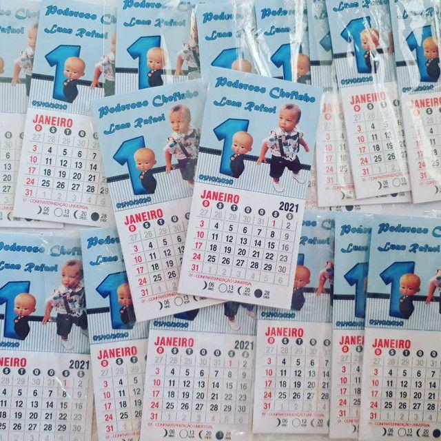 Mini calendario com imã  - Foto 3