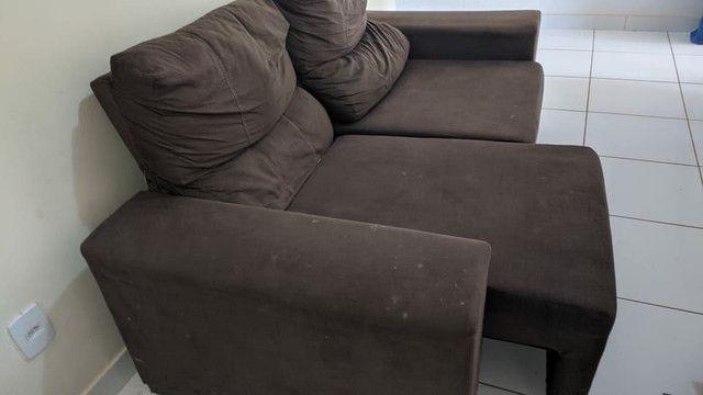 Sofá reclinável 3 lugares