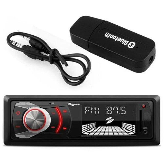Adaptador Receptor Bluetooth Usb-p2 Musica Carro Automotivo