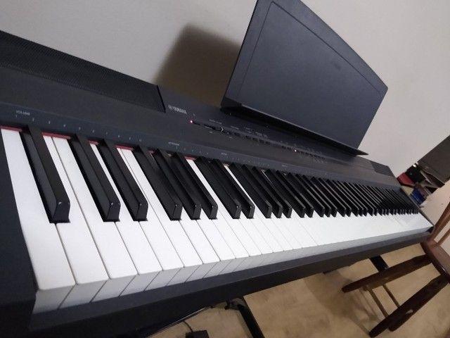 Piano Digital YAMAHA p105 88 teclas - Foto 2
