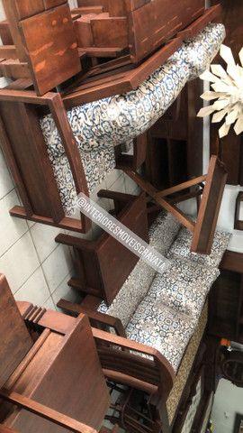 Móveis de qualidade madeira angelin pedra  maciça  - Foto 2