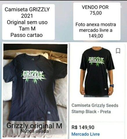Camiseta Grizzly ORIGINAL nova M