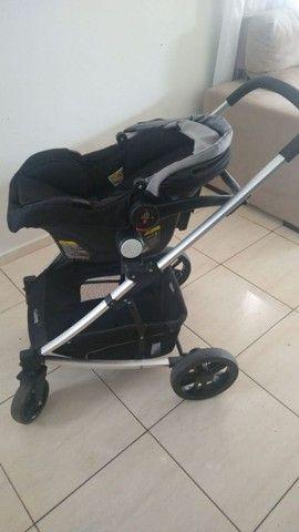 Carrinho de bebê travel system kiddo winner + Bebê conforto. - Foto 4