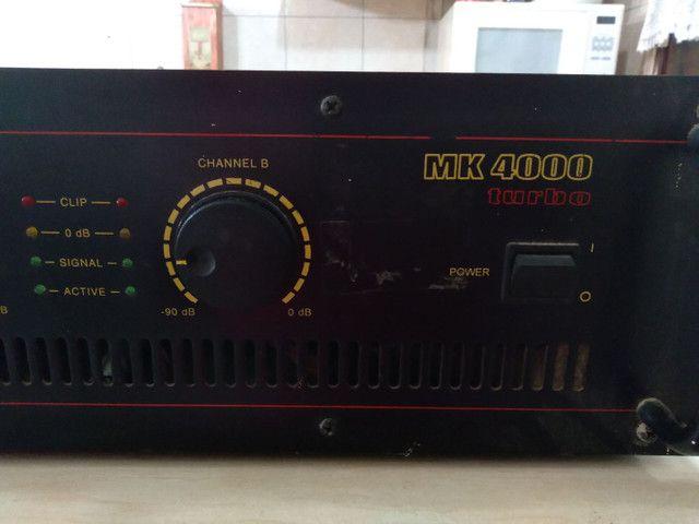 Módulo Mark Áudio MK 4000 Turbo