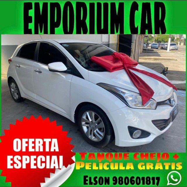 SO NA EMPORIUM CAR!!! HYUNDAI HB20 1.6 PREMIUM AUTOMÁTICO ANO 2015