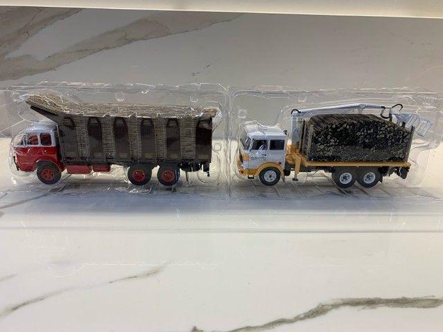 Miniaturas Coleção caminhões do Brasil - Foto 4