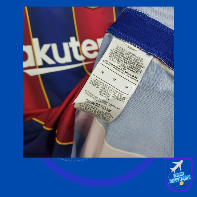 Camisa I Barcelona 2020/2021 - Foto 6