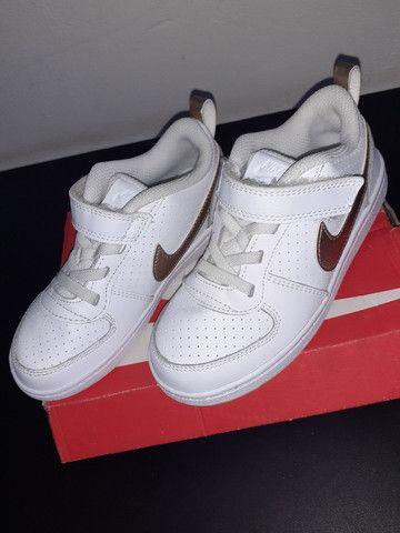 Sapato Nike original usado uma vez no final do ano