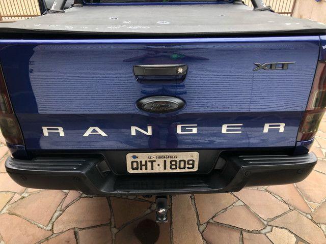 Ranger XLT 2017 diesel 4x4 AT - Foto 4
