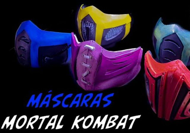 Mascara estilo mortal kombat - Foto 5