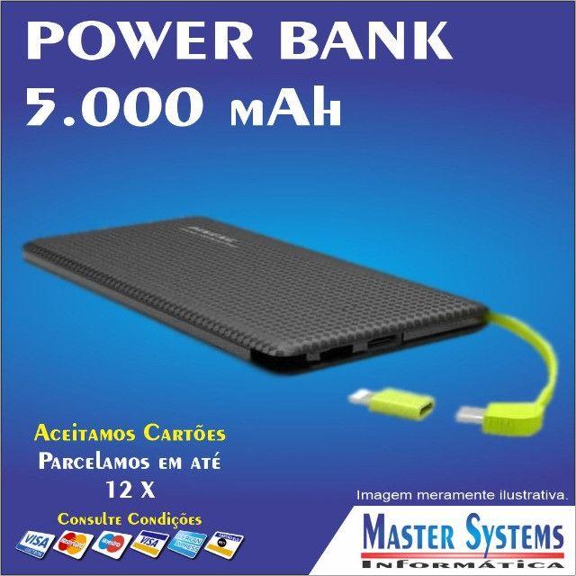 Carregador Portátil Power Bank Pineng - 5000 mAh