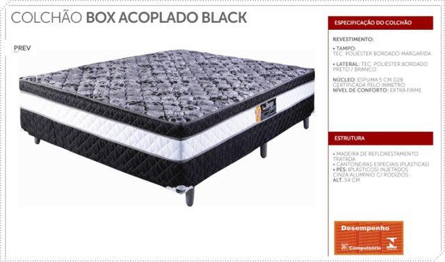 Sexta Ofertas Imperdíveis - Colchobox Casal - Black