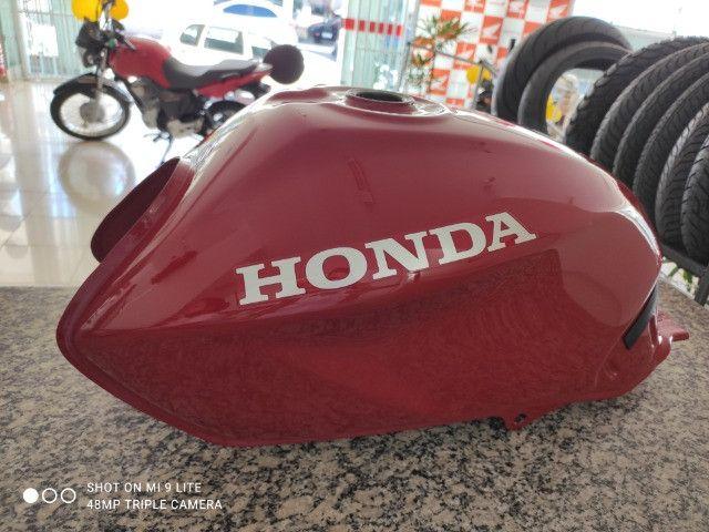 Tanque Novo CG Titan 150 JOB Vermelho 2007/2008 Original Honda - Foto 5