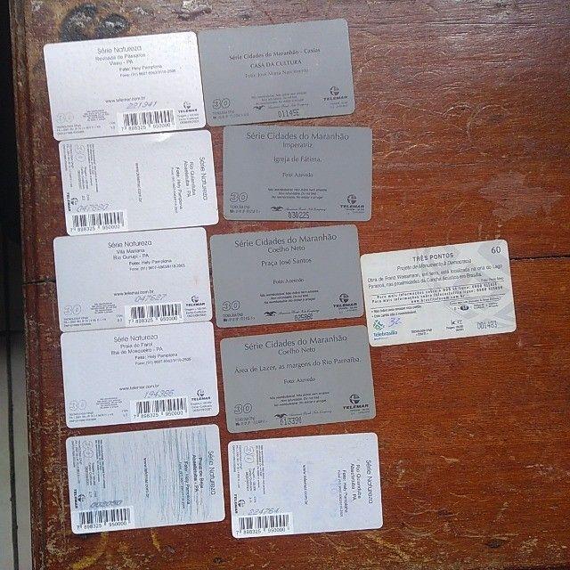 Cartões de telefone - Foto 3