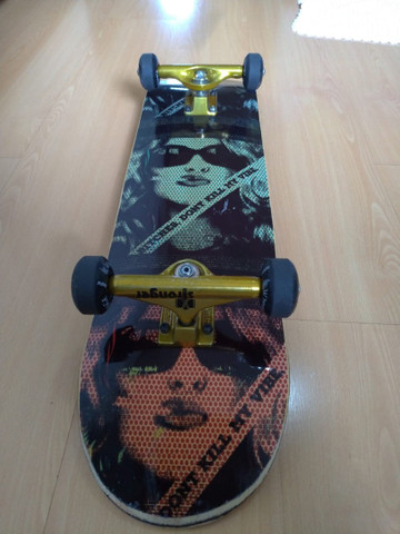 Vendo skate montado pouco usado - Foto 4