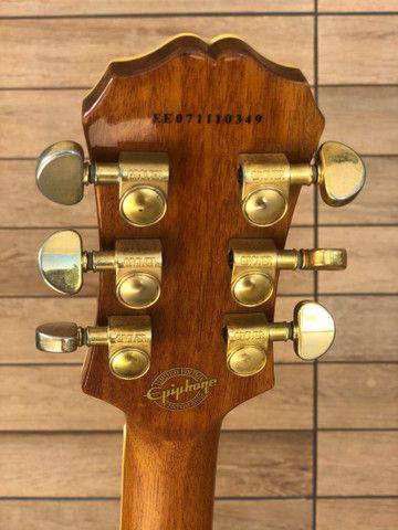 Guitarra Epiphone by Gibson Les Paul CUSTOM - edição limitada - Foto 3
