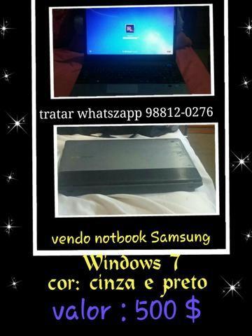 Vendo um.notbook Samsung