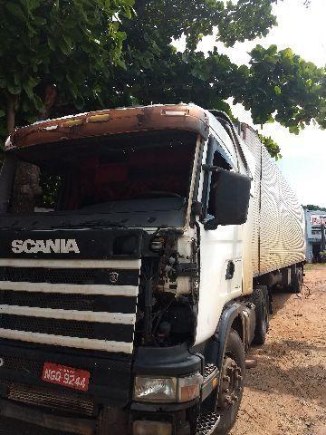 Gabine Scania para recuperar