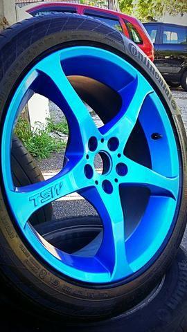 Rodas aro 17 5x100 com pneus