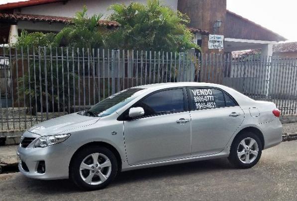 Corolla-xei-12/13-igual zero-77.000 km-ipva 2018 todo pago-sem detalhe-original-