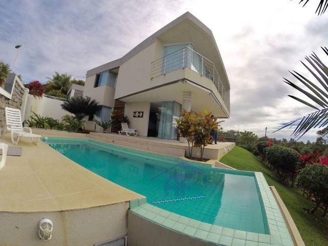 Casa de alto padrão com Vista pro mar com 4/4 sendo todos suítes - Jacarecica