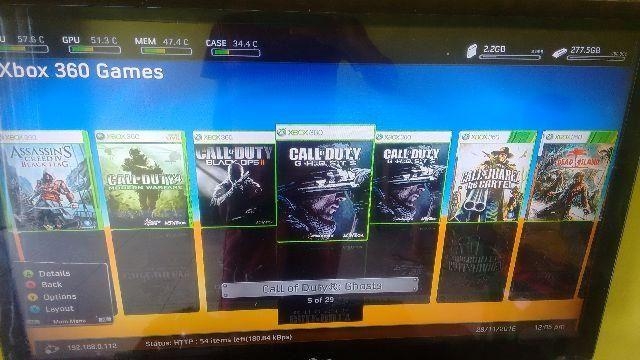 Xbox 360 Slim Controle + 14jogos Hd 250gb Parcelo 10x Cartão Barato Entrego Hoje